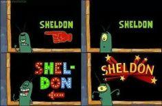 Ahhh Sheldon Plankton