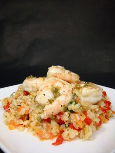 Honey-Lime Shrimp with Fried Rice