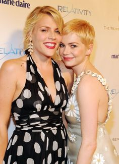 Busy Philipps and Michelle Williams, Besties.