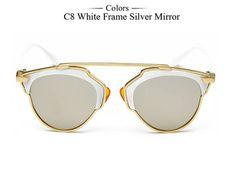 Affordable Elegant Classic Designer's Alloy Frame Women Sunglasses WDSG123