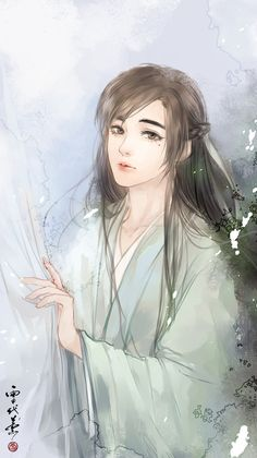 by xuedaixun on DeviantArt Fantasy Art Men, Beautiful Fantasy Art, Handsome Anime Guys, Cute Anime Guys, Boy Art, Art Girl, Cute Male Models, C Anime, L5r