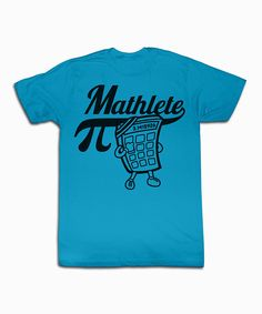 Take a look at this Turquoise 'Mathlete' Tee - Toddler & Kids on zulily today!