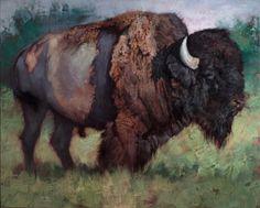 Jill Soukup_Morning Bull