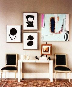 #hangingpictures  #gallerywall photo wall, hanging art, display photo gallery, #decorating art walls mural