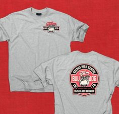 BHS CLASS of 78 // 35th Reunion Team Bulldog Tee // Availability by SPECIAL ORDER ONLY. Visit us on Facebook to make request via direct message. https://www.facebook.com/ZonianLife