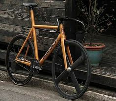 Fixie Wiz : Photo Awesome dosnoventa orange look at the seat tube all the way up ⬆ na