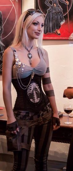Kato | her website is dedicated to #steampunk. Her fashion designs are to die for!