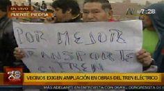 En el Cono Norte exigen ampliación de Línea 3 del Metro de Lima