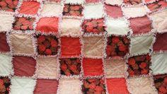 Rag Quilt -soft sherbert colors