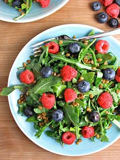 10-minutes is all is takes for this healthy, yummy salad!