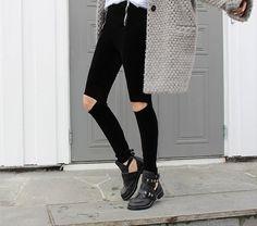 Balenciaga Boots & Oversized Knits #balenciaga #boots #oversizedknit #jumper