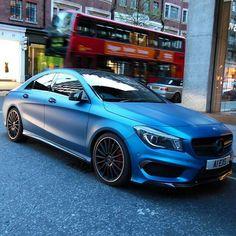 #matte #Mercedes #AMG #CLA CLA45AMG #London