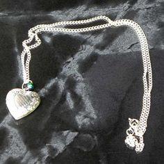 Sweet Heart locket necklace by Susie Carol jewellery   Jewels & Finery UK