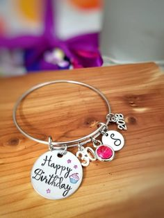 86645ed9cbd Birthday Gift for Her - Personalized Birthday Gift - Birthday Jewelry -  30th Birthday Gift