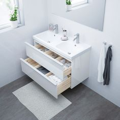 IKEA offers everything from living room furniture to mattresses and bedroom furniture so that you can design your life at home. Check out our furniture and home furnishings! Steel Seal, Plastic Foil, Wash Stand, Plastic Drawers, White Stain, Smart Design, Drawer Fronts, Home Furnishings, Faucet