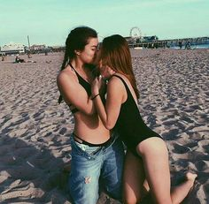 bisexual dating site for Bi couples and singles. Bi women looking for couples, Bi men seeking couples, couple looking for bi female, couple looking for couple. Lesbian Hot, Cute Lesbian Couples, Lesbian Pride, Cute Couples Goals, Couple Goals, Girlfriend Goals, Gay Aesthetic, Lesbians Kissing, Lgbt Love