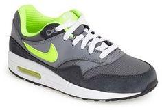 Nike 'Air Max 1 GS' Sneaker (Big Kid)