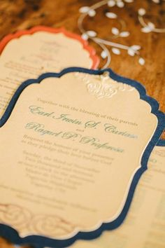 moroccan inspired handmade diy wedding invitation style inspiration