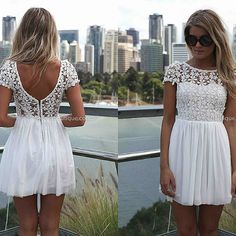 white dress(engagement party/rehersal)