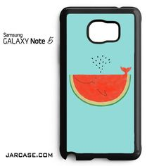 Watermelon Whale Art Phone case for samsung galaxy note 5 and another devices