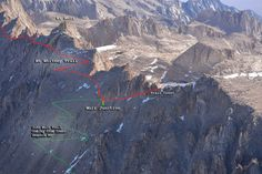 Mt Whitney Trail - Hiking and Backpacking - Timberline Trails
