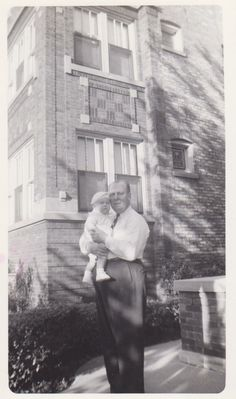 So Many Ancestors!: Wordless Wednesday: My Father (Age 6 1/2 Months) and Grandfather #genealogy