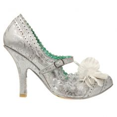 $140 I love the silver brocade look here. So pretty!