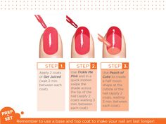 "An easy-do pattern from Sally Hansen ""French Twist."" Adapt this to any color scheme. #nailart"