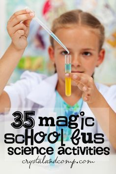 magic school bus science activities for kids!