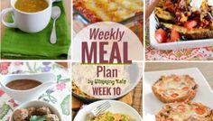 Slimming Eats Weekly Meal Plan - Week 10