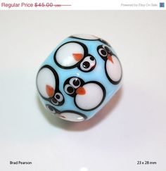 Love this Brad Pearson bead - and it's on sale!