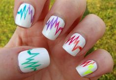 to make your nails grow longer out lemon juice on the tips of your nails so u won't bit them.  ;)