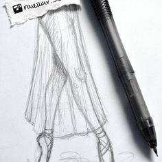 Ballerina legs with #mechanicalpen   #ballett #ballerina #ballerinalegs #dance #drawing #draw #pen #skech #nocolors #legs #ballettshoes