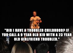 Troubled childhood?