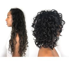 Curly hair cut Source by puteauo 3a Curly Hair, Shoulder Length Curly Hair, Curly Medium Hair, Layers For Curly Hair, Short Layered Curly Hair, Balage Hair, Layered Curls, Long Hair, Layered Curly Haircuts