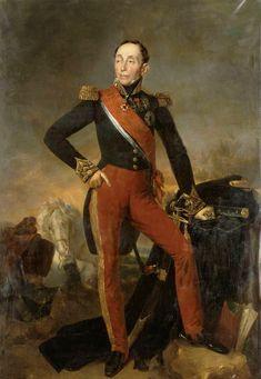 Emmanuel de Grouchy, marquis de Grouchy, né à Paris le 23 octobre 1766, mort à Saint-Étienne (Loire) le 29 mai 1847), maréchal d'Empire, comte de l'Empire, Grand aigle de la Légion d'honneur, pair de France. En mars 1815 il est promu maréchal et nommé pair de France.