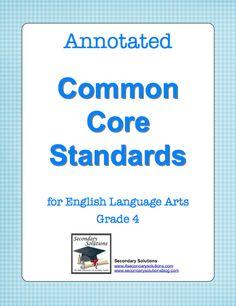 Common Core Language Arts