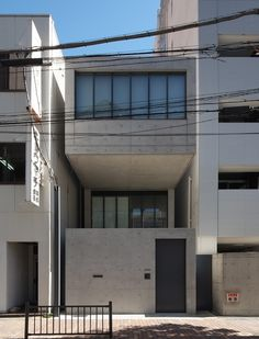 house in utsubo park tadao ando 2010