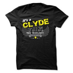 If your name is 【title】 CLYDE then this is ᗖ just for youThis shirt is a MUST HAVE. Choose your color style and Buy it now!CLYDE