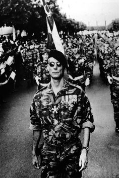 Still from the well-known film about the Algerian Independence War, Battle of Algiers.