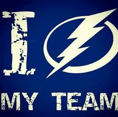 Go Bolts Tampa Bay Hockey, Tampa Bay Lightning Logo, Tampa Bay Lighting, Hockey Teams, Hockey Stuff, Bay Sports, Rugby Sport, Stanley Cup Playoffs