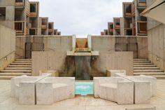 Louis Kahn Salk Institute in La Jolla, California Photos | Architectural Digest