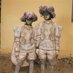 Phyllis Galembo, Two in Fancy Dress, Red Cross Masquerade Group, Winneba, Ghana, 2009