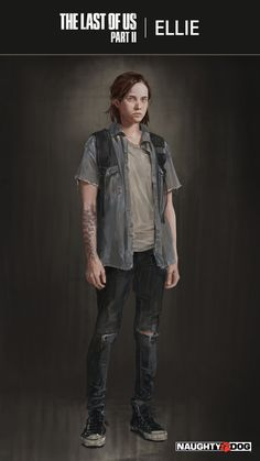 https://flic.kr/p/PKHujS | Ellie reference - The Last of Us Part II | Concept art and cosplay reference  of Ellie from the reveal trailer of The Last of Us Part II.