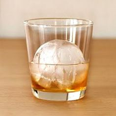 Glacier Ball, a minimalist silicone form transforms water into flawless frozen spheres. Each slow-melting globe chills your favorite beverage without watering it down, so the last sip tastes just as good as the first. Now featured on Fab.