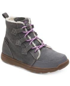 Stride Rite M2P Heather Boots, Toddler & Little Girls (4.5-3) - Gray 13.5W