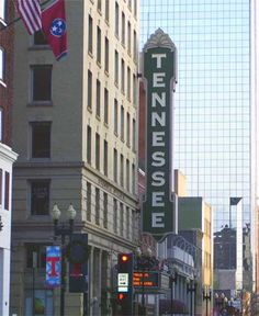 """Downtown Landmarks - When it opened in 1928, the Tennessee Theatre was hailed as """"the South's most beautiful theatre"""" and for generations, it has been a central part of downtown Knoxville. Closing on June 1, 2003, the historic theatre underwent a $25.5 million renovation and restoration project. The doors reopened on January 15, 2005 as a world class performing arts center and is one of the jewels of Knoxville.   Honored as the Official State Theatre of Tennessee, """"Knoxville's Grand…"""