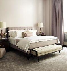 simple, elegant bedroom