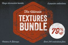 Check out The Ultimate Textures Bundle by Offset on Creative Market