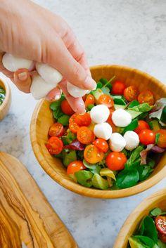 Caprese Salad + Pesto Dressing Recipe-4
